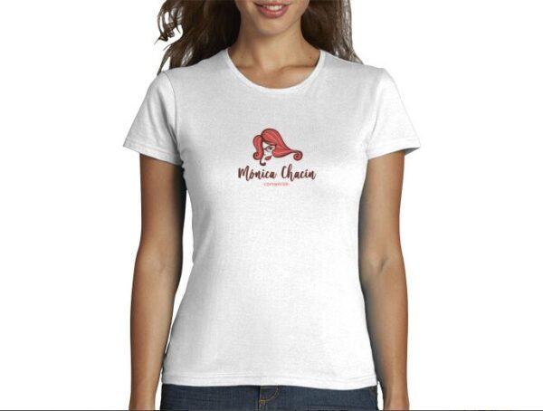 camiseta mónica chacín copywriter marca personal