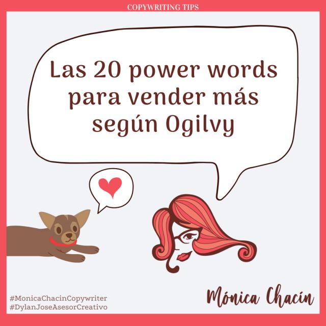 Las 20 power words para vender más según Ogilvy